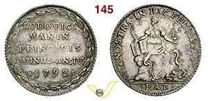 VENEZIA - LUDOVICO MANIN  (1789-1799)  ...