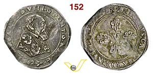 URBANO VIII  (1623-1644)  Mezza Piastra ...