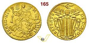 BENEDETTO XIV  (1740-1780)  Zecchino 1747.   ...