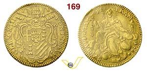 CLEMENTE XIII  (1758-1769)  Zecchino 1764 A. ...