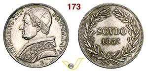 GREGORIO XVI  (1831-1846)  Scudo 1835 V, ...