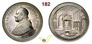 PIO IX  (1846-1878)  Med. 1874 A. XXIX ...