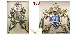 LEONE XIII  (1878-1903)  Med. A XXV per il ...