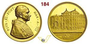 PIO XI  (1922-1939)  Med. 1928 A. VII per il ...
