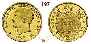 NAPOLEONE I, Imperatore  (1805-1814)  20 ...