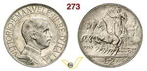 VITTORIO EMANUELE III  (1900-1946)  2 Lire ...
