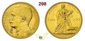 VITTORIO EMANUELE III  (1900-1946)  100 Lire ...
