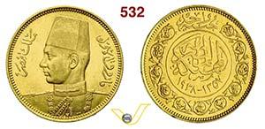 EGITTO - FAROUK  (1926-1952)  100 Piastre ...