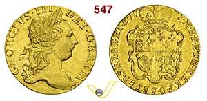 GRAN BRETAGNA - GIORGIO III  (1760-1820)  ...