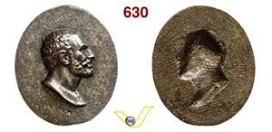 SENECA  1800 (XVIIII Sec.)  Med. uniface ...