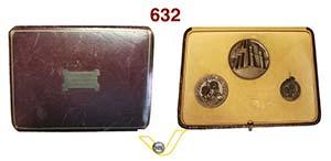 LIVORNO - Trittico di medaglie 1934 A. XII ...
