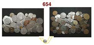 Interessante lotto di 135 monete papali in ...