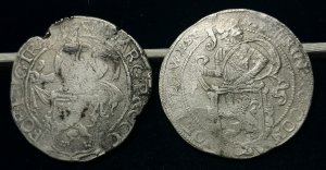 2 Lowenthaler: 1636 Westfriesland e 1643 ...