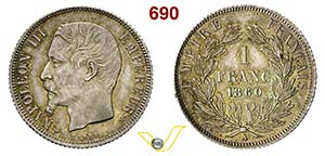 FRANCIA - NAPOLEONE III  (1852-1870)  1 ...