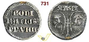 - BONIFACIO IX  (1281-1285)  Bolla.  D/ ...
