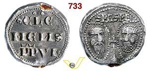 - CLEMENTE VI  (1342-1352)  Bolla.  D/ ...