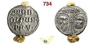 - MARTINO V  (1417-1431)  Bolla.  D/ ...