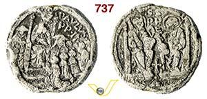 - PAOLO II  (1464-1471)  Bolla.  D/ Scritte ...