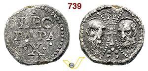 - LEONE X  (1513-1521)  Bolla.  D/ Scritte  ...