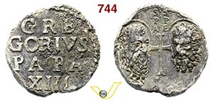 - GREGORIO XIII  (1572-1585)  Bolla.  D/ ...