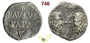 - PAOLO V  (1605-1621)  Bolla.  D/ Scritta  ...