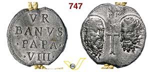 - URBANO VII  (1623-1644)  Bolla.  D/ ...