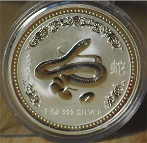 "AUSTRALIA - 2001 - 1 Dollaro ""Serpente""  ..."