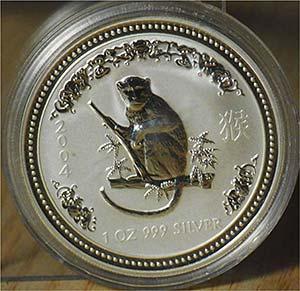 """AUSTRALIA - 2004 - 1 Dollaro """"Scimmia""""   ..."""