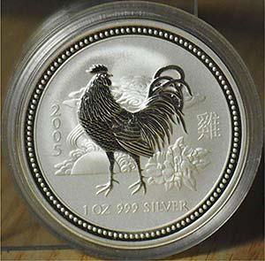 """AUSTRALIA - 2005 - 1 Dollaro """"Gallo""""    ..."""