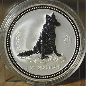 """AUSTRALIA - 2006 - 1 Dollaro """"Lupo""""    ..."""