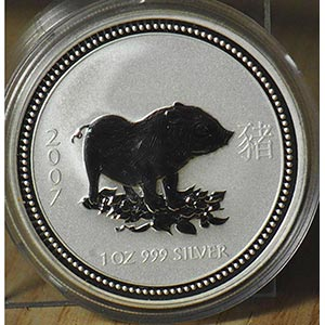 "AUSTRALIA - 2007 - 1 Dollaro ""Maiale""    ..."