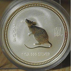 """AUSTRALIA - 2008 - 1 Dollaro """"Topo""""    ..."""