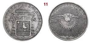 BOLOGNA  SEDE VACANTE  (1830)  Scudo  1830   ...