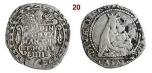 CASALE  FERDINANDO GONZAGA  (1613-1626)  6 ...