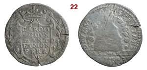 CASALE  CARLO II GONZAGA  (1637-1665)  2 ...