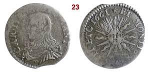 CASALE  CARLO II GONZAGA  (1637-1665)  Soldo ...