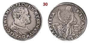 FIRENZE  COSIMO I DE MEDICI  (1537-1574)  ...