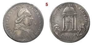 BOLOGNA  PIO VI  (1775-1799)  100 Bolognini  ...