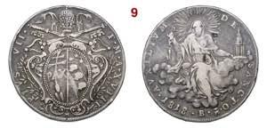 BOLOGNA  PIO VII  (1800-1823)  Scudo  1818 ...
