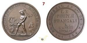 1796 - Battaglia Millesimo e Dego (conio ...