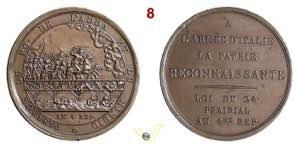 1796 - Passaggio Adda e Mincio (conio ...