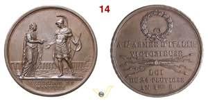 1796 - Resa di Mantova (conio ital.)  Henn. ...
