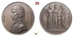 1797 - Fondazione Rep. Cisalpina  Henn. 794  ...