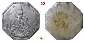 1797 - Repubblica Cisalpina (uniface ...