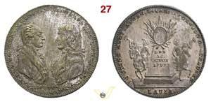 1797 - Trattato di Campoformio  Henn. 820  ...