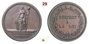 1797 - Distintivo Polizia Rep. Cisalpina  ...
