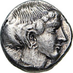 LUCANIA - VELIA   (465-440 a.C.) Dracma.  D/ ...