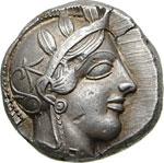 ATTICA - ATHENS  (430 a.C. circa) ...