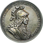 PRINCIPE EUGENIO  (1663-1736)  Med. 1717 per ...