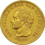 SAVOIA - CARLO FELICE  (1821-1831)  80 Lire ...